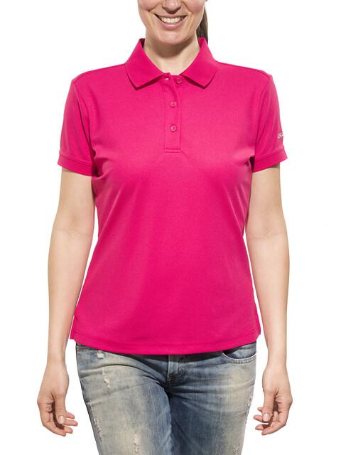 Craft Classic Polo Pique Shirt Women russian rose